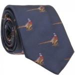 Pheasant Woven Tie (7797 213)