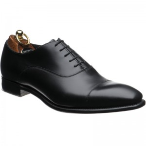 herring churchill ii in black calf