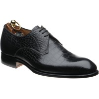 herring santano in black croc