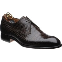 herring santano in brown croc