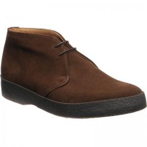 Herring Mustang desert boots in Snuff Suede