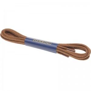 herring boot laces 120cm in tan