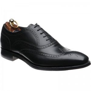 Herring Gladstone II (Rubber) in Black Calf