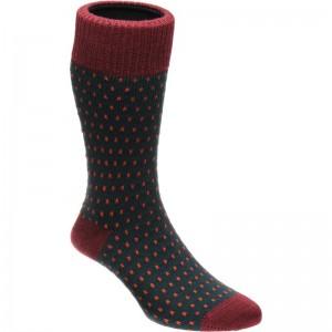 Herring Biffo Sock in Green
