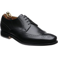 herring sturgate in black calf