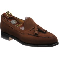 herring barcelona ii in brown suede