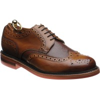 Herring Redbourne two-tone rubber-soled brogues