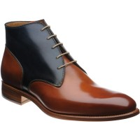 Stirrup two-tone boots