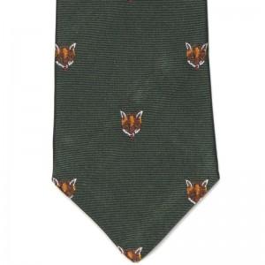 Fox Mask Tie (7797 266) in Green (5)