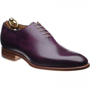 Chaucer Patina in Purple Calf