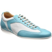 Herring Silverstone II rubber-soled trainers