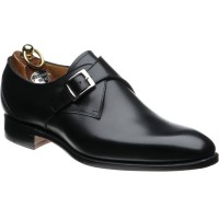 herring byron in black calf