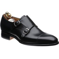 herring hardy in black calf