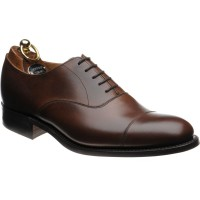 herring mayfair rubber in mahogany calf