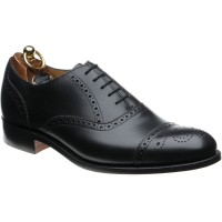 herring lambeth in black calf