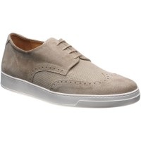Herring Denton two-tone rubber-soled brogues