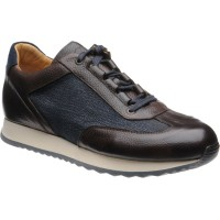 Pembury two-tone rubber-soled trainers