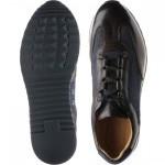 Herring Pembury two-tone rubber-soled trainers