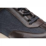 Herring Pembury two-tone rubber-soled trainers