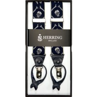 herring skull 11591 braces in navy