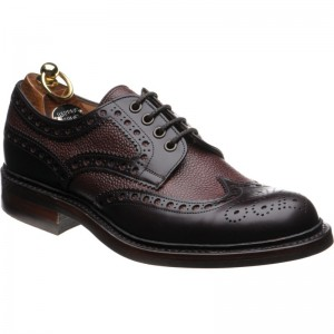 Cliburn in Burgundy Calf and Grain