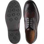 Cliburn two-tone rubber-soled brogues