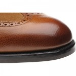 Docklands rubber-soled brogue boots