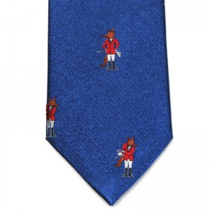 Fox Hunter Tie (7797 313) in Blue