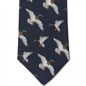 Flying Duck Tie (7797 287) in Navy