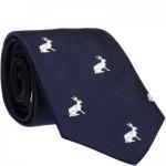 Sitting Hare Tie (7797 62)