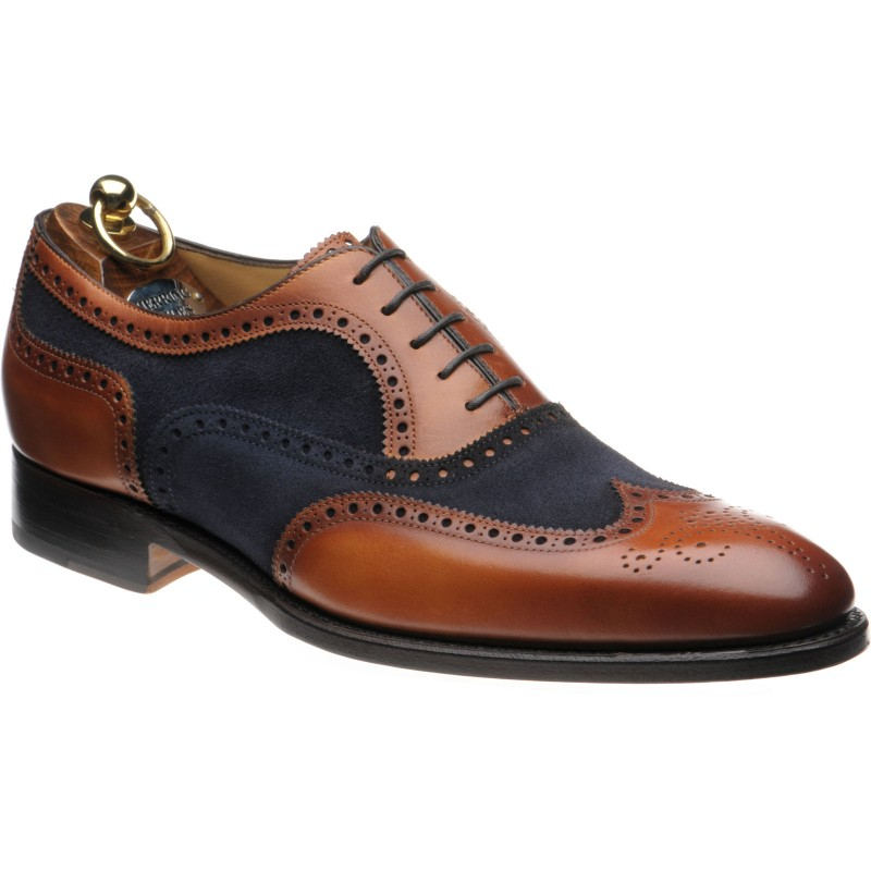 size 40 new lifestyle 100% high quality Herring shoes | Herring Classic | Farnham two-tone brogues in ...