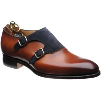 Herring Faversham double monk shoes