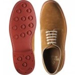 Johnstone rubber-soled Derby shoes