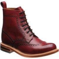 Herring Jesmond brogue boots