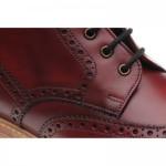 Jesmond brogue boots