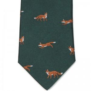 Fox Tie (7797 271) in Green (4)