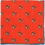 Foxhound Pocket Square (71476)