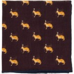 Hare Pocket Square (71475)