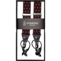 herring sconce 10791 braces in burgundy