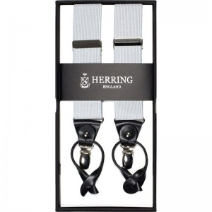 Herring Plain 10161 Braces in Grey
