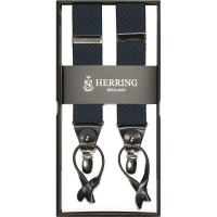 herring houndstooth 10731 braces in grey