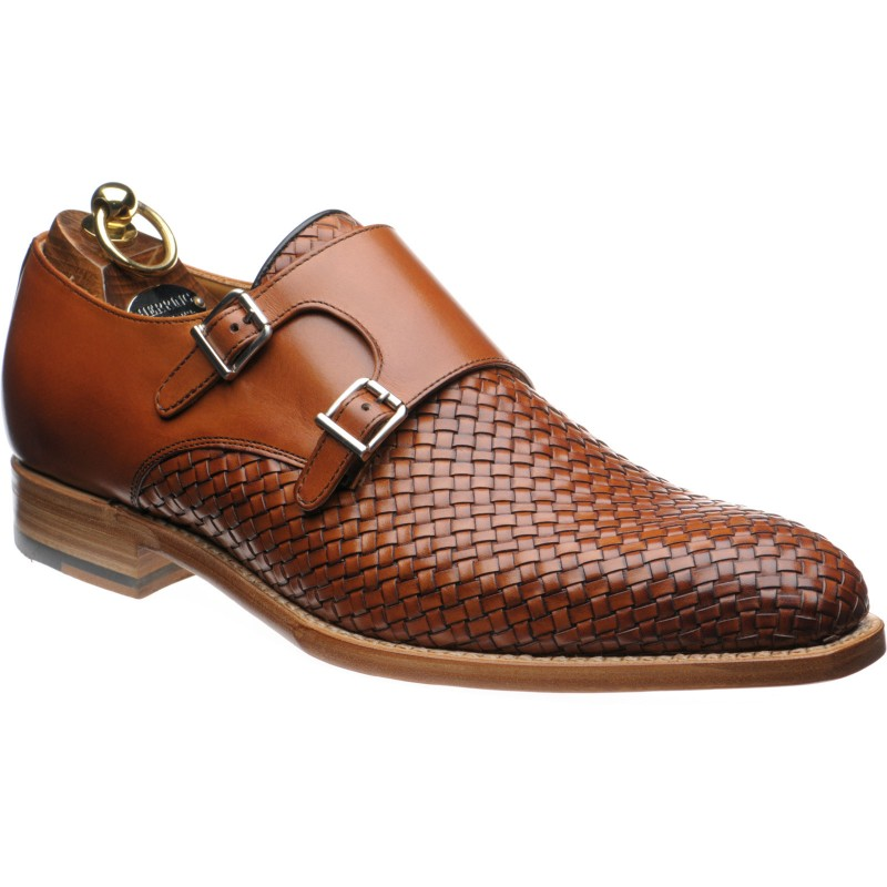 Fano double monk shoes