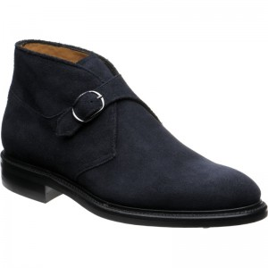 Tintern in Navy Suede