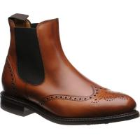 Herring Stanway rubber-soled brogue boots