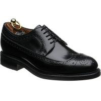 herring leconfield rubber in black calf