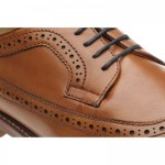 Longford rubber-soled brogues