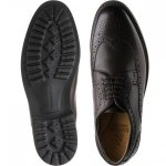Launceston rubber-soled brogues