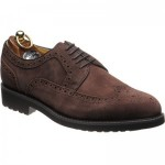 Herring Launceston rubber-soled brogues