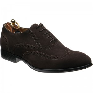 Herring Felsted rubber-soled brogues