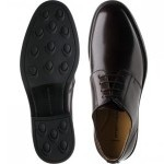 Gleneagles rubber-soled Derby shoes